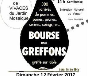 Bourse aux greffons d'Asnières-sur-Vègre